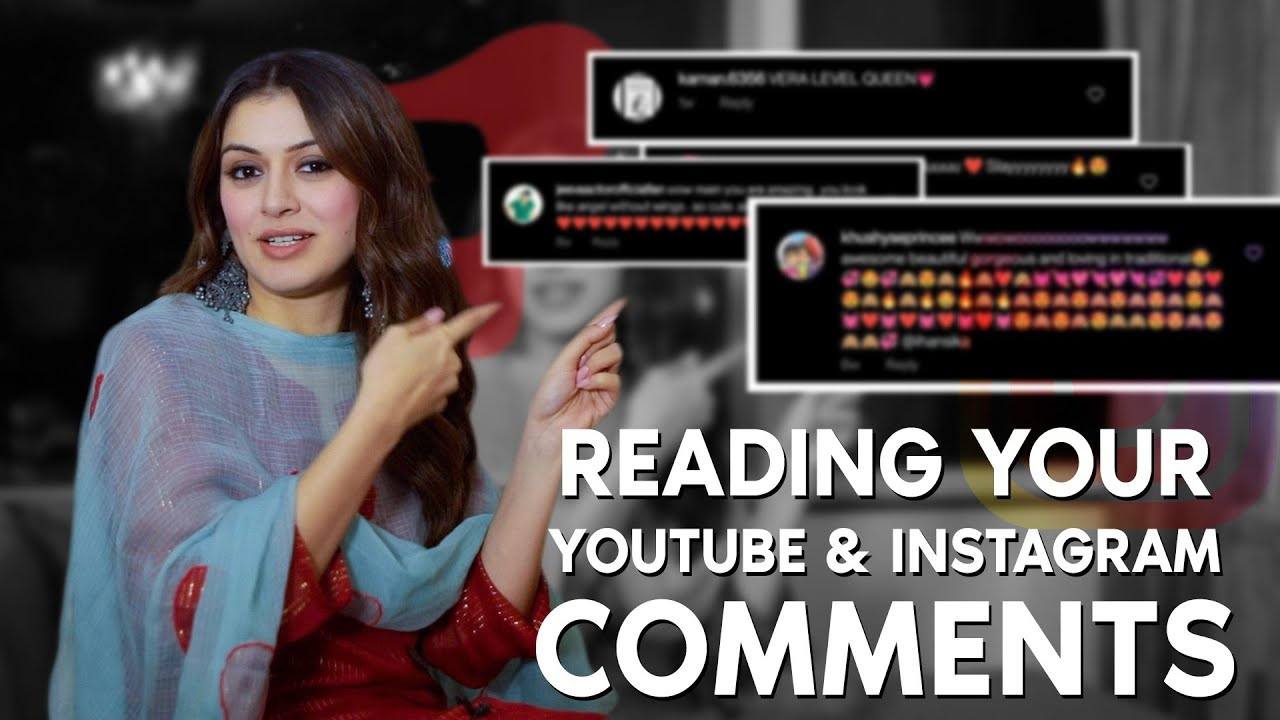 Download Reading your comments from YouTube and Instagram || Hansika Motwani || Silly Monks
