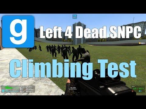 Left 4 Dead SNPC Climbing Test (Garry's Mod)