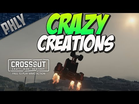 CROSSOUT CRAZY CREATIONS (Crossout Gameplay)