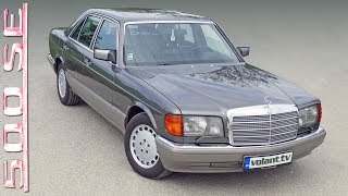 Peter's Mercedes-Benz 500 SE W126 - volant.tv