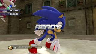 Sonic Unleashed (Xbox 360/PS3) Free-Roam Gameplay [HD]