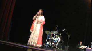 Alka Yagnik Live in Concert in Atlanta-Raah Mein Unse Mulakaat Ho Gayee