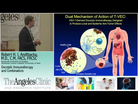Oncolytic Immunotherapy - Robert H Andtbacka