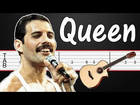 We Are the Champions - Queen Guitar Tabs, Guitar Tutorial, Guitar Lesson