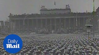 Chilling archive footage shows 1939 Nazi rally in Nuremberg - Daily Mail