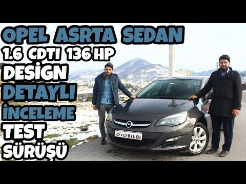 Opel Astra Test Surusu 2016 1 6 Cdti 136 Hp Design Otomatik Oto Bilgi Youtube