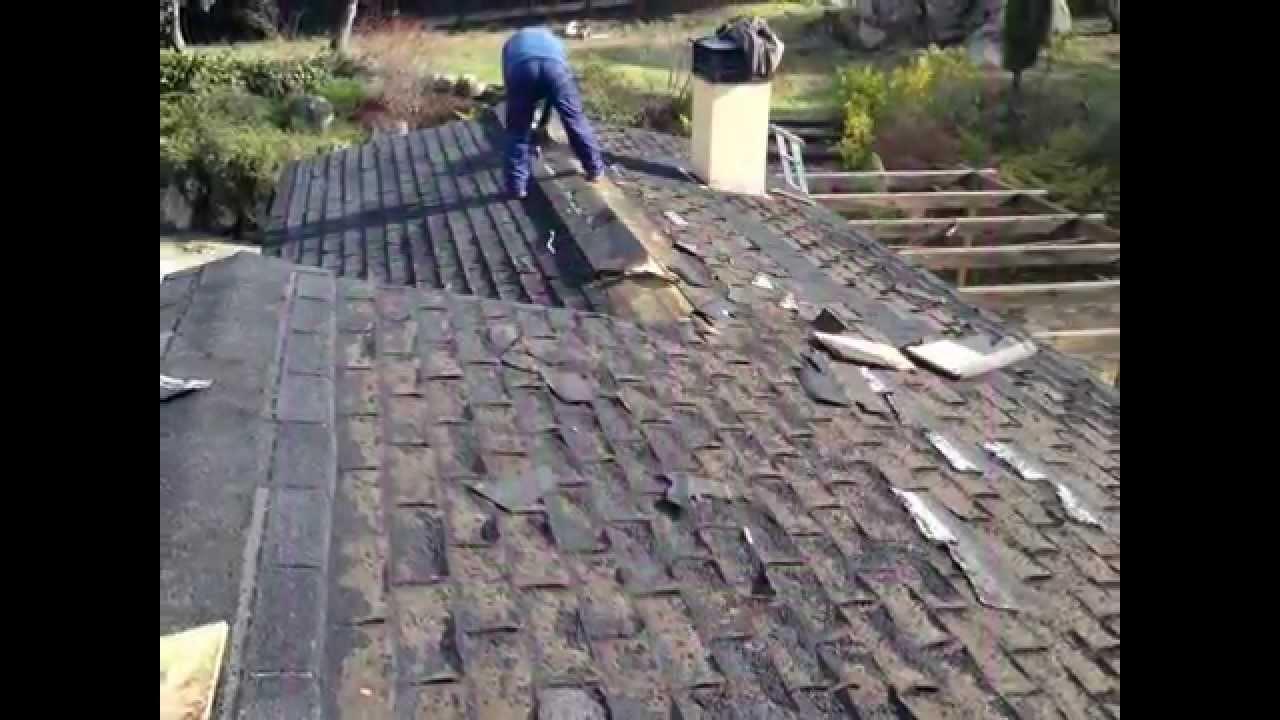 Tejado antes y despu s de teja asf ltica a teja roofy - Tipos de tejados ...