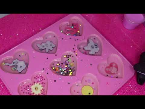 LALALALOVEABLES - Watch me resin hearts