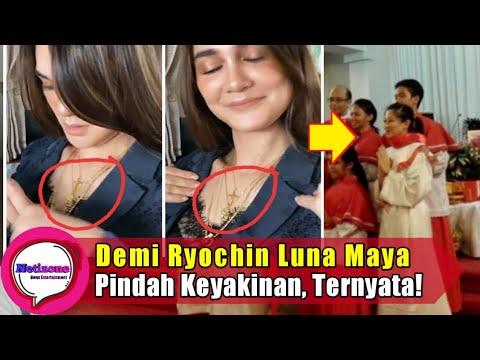 Terjawab Sudah Kabar Luna Maya Pindah Agama Demi Ryochin Ternyata Youtube