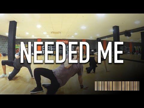 NEEDED ME - Rihanna Dance ROUTINE Video | @BrendonHansford Choreography