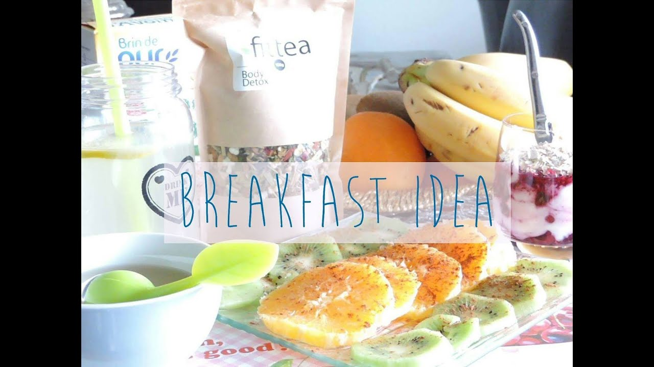 healthy breakfast idea id e de petit d jeuner quilibr 1 youtube. Black Bedroom Furniture Sets. Home Design Ideas