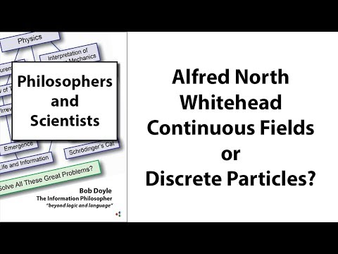Alfred North Whitehead: Continuous Fields or Discrete Particles?