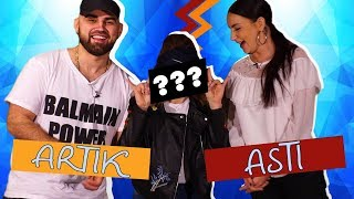 Artik&Asti одевают меня в ЛЕДИ ГАГУ ТАМАДУ/ПРИОДЕНЬСЯ!