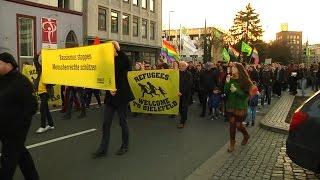 Gegendemo in Bielefeld #bi2403 #noAfD #nonazisbi