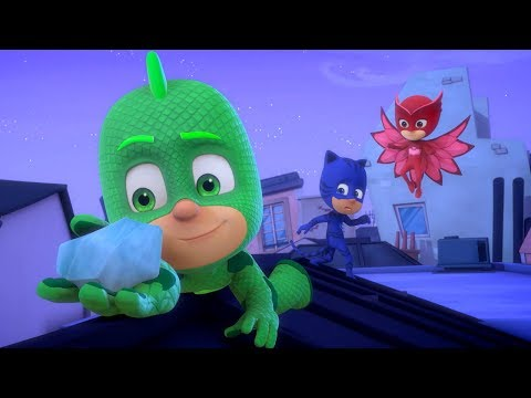 PJ Masks Full Episodes - Gekko's Powers! - 1 HOUR EPISODE COMPILATION - Cartoons for Children