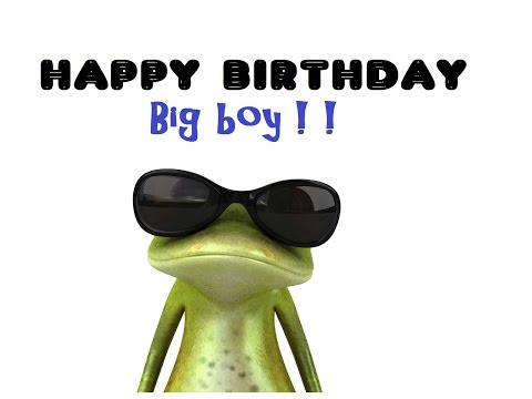 Happy Birthday Greeting - For Any Little Boy