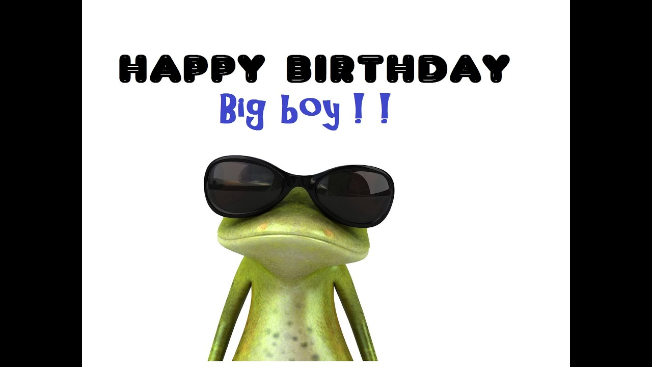 Happy Birthday Greeting - For Any Little Boy - YouTube