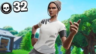 32 Kill Solo Squads | Season X Fortnite