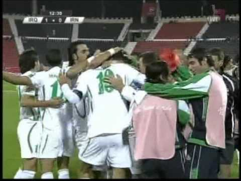 Iraq vs Iran 2011 AFC Asian Cup 1-11-2011
