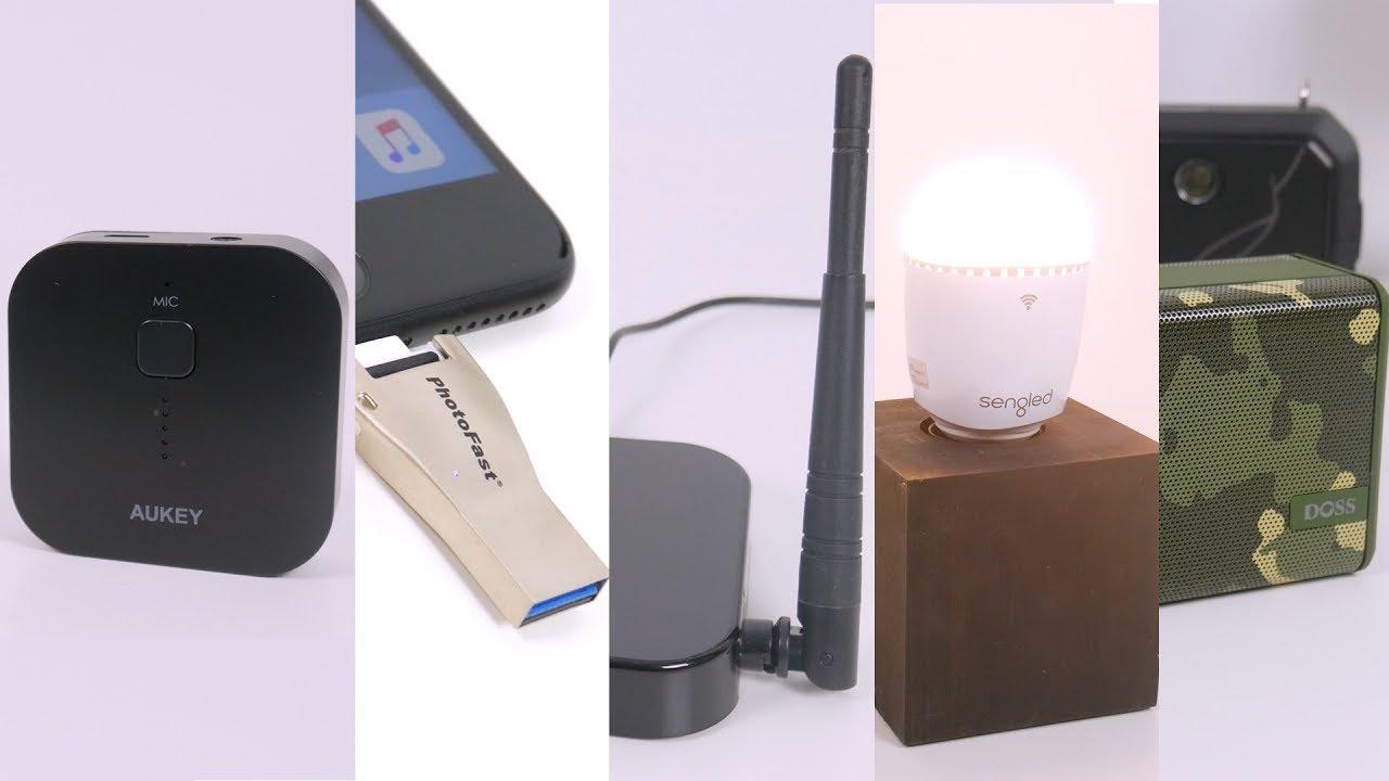 top 5 smarte gadgets f r den alltag youtube. Black Bedroom Furniture Sets. Home Design Ideas