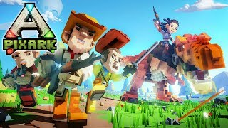 ARK + MINECRAFT = AWESOME! | PixARK | Let's Play Gameplay | S01E01