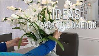 IDEAS PARA DECORAR TU COMEDOR 2019/DIY DECORACION/DECORACIONES