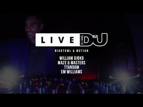DJ Mag Live Presents Nightowl & Motion