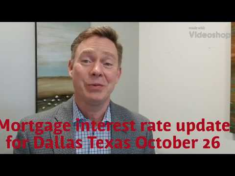Mortgage interest rate up date for Dallas Texas |  Second Chance Home Loan Program