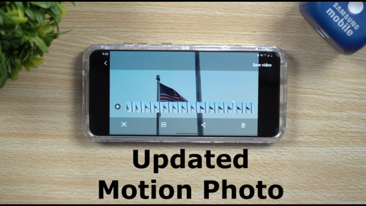 Start Using Motion Photo Today - Unsung Hero