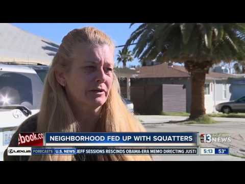 Neighbors Worried About Crimes Committed By Squatters