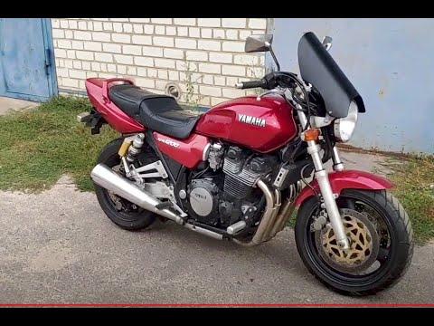 Ветровик - обтекатель на Yamaha XJR своими руками