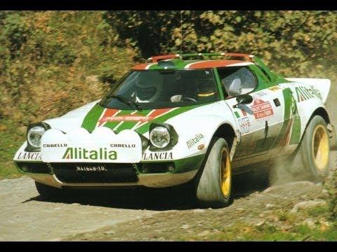 Lancia Stratos rally | Historic rally video