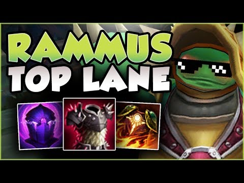 ROLL YOUR WAY TO THE FREE LP! RAMMUS TOP IS THE ULTIMATE MELEE COUNTER! RAMMUS TOP League of Legends