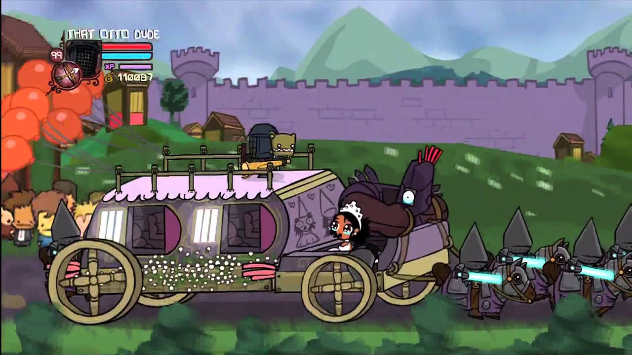 castle crashers solo insane prt10 bee keeper youtube