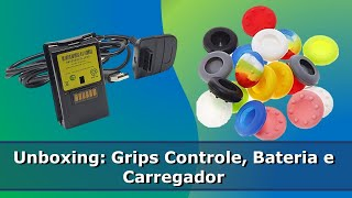 Unboxing de Novo (Grip Controle Xbox One/Bateria e Carregador Xbox 360) - Parte 4