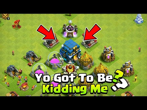 World First Th12 Engineered Base In Clash of Clans - 2019