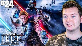 Star Wars JEDI: Upadły Zakon #24 - FORTECA INKWIZYTORÓW! | Vertez | 1440p ULTRA