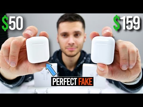 The PERFECT Fake AirPods Are Here! $50
