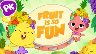 Fruit Is So Fun! I Love to Learn: Music for kids, songs for kids about eating right, healthy foods
