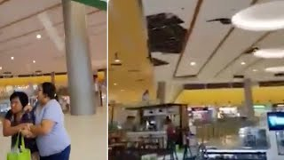 Shopping Mall Roof Collapses In Philippines Earthquake