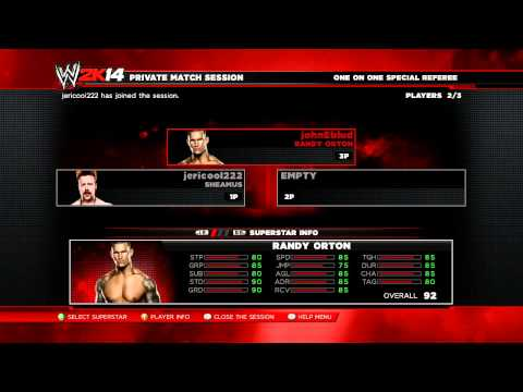 nL Live on Twitch.tv - nL Training Session [WWE 2K14]