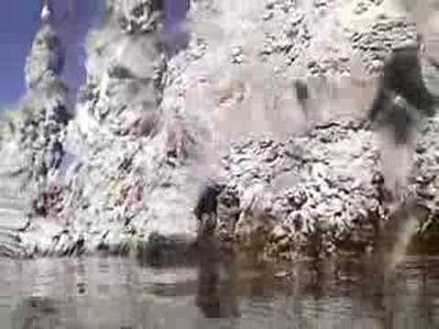 Mono Lake underwater exploration