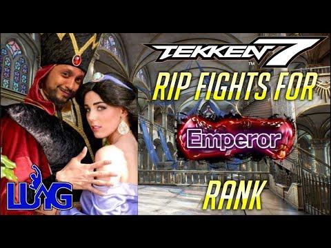 RANKED - Rip Fights For Emperor Rank - TEKKEN 7 SEASON 2