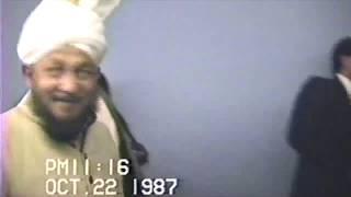 Hazrat Khalifatul Masih IV's Arrival In California, USA