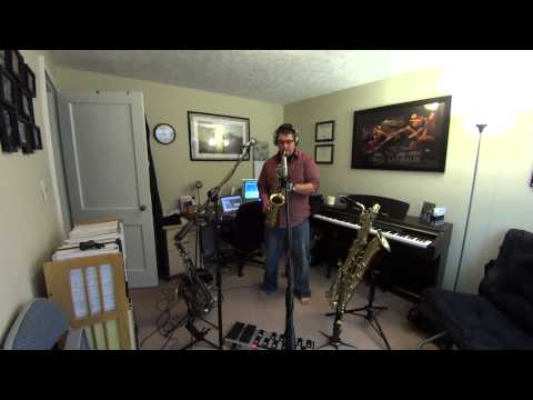 A lighthearted bit of saxophoning with the help of a loop pedal.