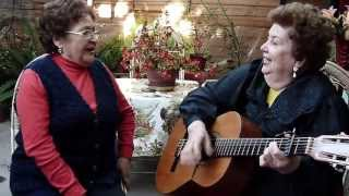 La Rosa Perdida (Cueca, A. Azócar) Las Morenitas - Chabelita Fuentes y Laura Yentzen.