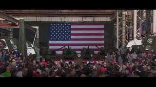 President Trump Delivers Remarks at Lima Army Tank Plant