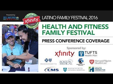 El Mundo Boston - Latino Family Festival Press Conference 2016 - Health