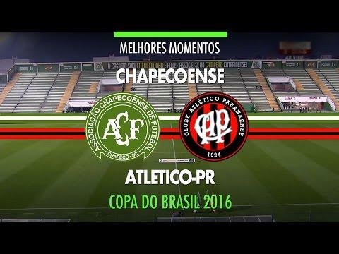 Melhores Momentos - Chapecoense 1 x 1 Atlético-PR - Copa do Brasil - 27/07/2016