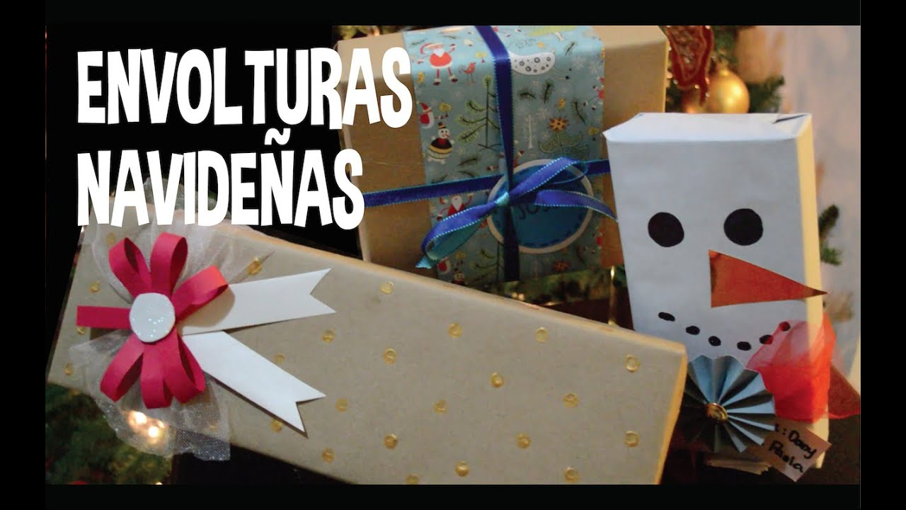 Envolturas de regalo navide as facil y original pp - Envolturas de regalos ...